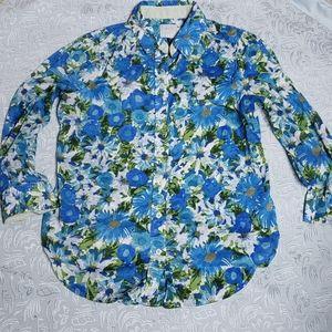 Anthropologie HD in Paris floral blouse